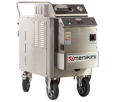 Profesionalni i industrijski Menikini paročistači i uređaji za čišćenje, odmašćivanje i dezinfekcije suvom parom. Steam Master paročistač. Suva para za dezinfekciju i čišćenje
