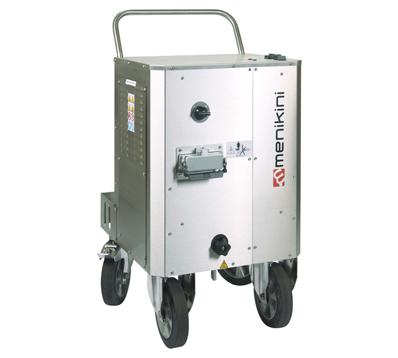 Profesionalni i industrijski Menikini paročistači i uređaji za čišćenje, odmašćivanje i dezinfekcije suvom parom. Steam Master Compact paročistač. Suva para za dezinfekciju i čišćenje